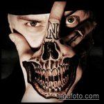 тату для мужчин №665 - классный вариант рисунка, который удачно можно использовать для преобразования и нанесения как тату обереги для мужчин
