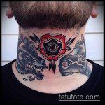 тату для мужчин №864 - крутой вариант рисунка, который успешно можно использовать для переделки и нанесения как тату на спину для мужчин