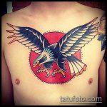 тату для мужчин №358 - классный вариант рисунка, который успешно можно использовать для доработки и нанесения как Men's tattoos