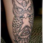 тату для мужчин №701 - достойный вариант рисунка, который хорошо можно использовать для преобразования и нанесения как тату обереги для мужчин