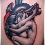 тату для мужчин №434 - прикольный вариант рисунка, который легко можно использовать для переделки и нанесения как тату на спину для мужчин