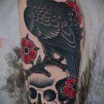 тату для мужчин №866 - эксклюзивный вариант рисунка, который легко можно использовать для доработки и нанесения как Men's tattoos