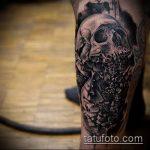 тату для мужчин №754 - достойный вариант рисунка, который удачно можно использовать для преобразования и нанесения как тату на спину для мужчин