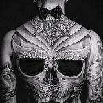 тату для мужчин №306 - крутой вариант рисунка, который хорошо можно использовать для преобразования и нанесения как Men's tattoos