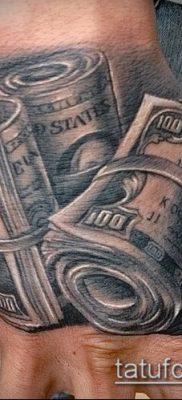 фото тату доллар (tattoo dollar) (значение) – пример рисунка – 002 tatufoto.com