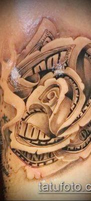 фото тату доллар (tattoo dollar) (значение) – пример рисунка – 003 tatufoto.com