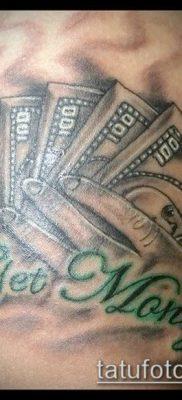 фото тату доллар (tattoo dollar) (значение) – пример рисунка – 005 tatufoto.com