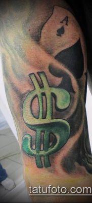 фото тату доллар (tattoo dollar) (значение) – пример рисунка – 008 tatufoto.com
