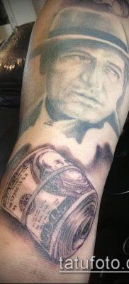 фото тату доллар (tattoo dollar) (значение) – пример рисунка – 012 tatufoto.com