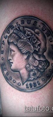фото тату доллар (tattoo dollar) (значение) – пример рисунка – 015 tatufoto.com