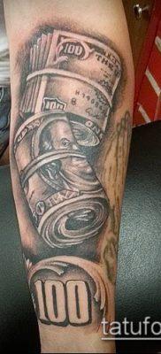 фото тату доллар (tattoo dollar) (значение) – пример рисунка – 017 tatufoto.com