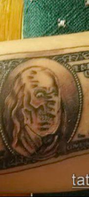 фото тату доллар (tattoo dollar) (значение) – пример рисунка – 018 tatufoto.com