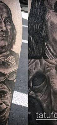 фото тату доллар (tattoo dollar) (значение) – пример рисунка – 021 tatufoto.com