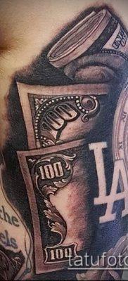 фото тату доллар (tattoo dollar) (значение) – пример рисунка – 026 tatufoto.com