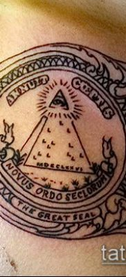 фото тату доллар (tattoo dollar) (значение) – пример рисунка – 027 tatufoto.com