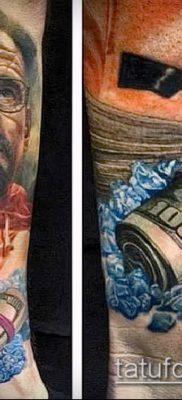 фото тату доллар (tattoo dollar) (значение) – пример рисунка – 028 tatufoto.com