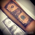 фото тату доллар (tattoo dollar) (значение) - пример рисунка - 029 tatufoto.com