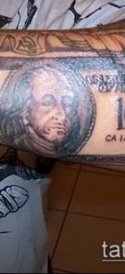 фото тату доллар (tattoo dollar) (значение) – пример рисунка – 033 tatufoto.com