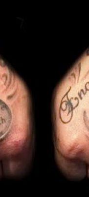 фото тату доллар (tattoo dollar) (значение) – пример рисунка – 038 tatufoto.com
