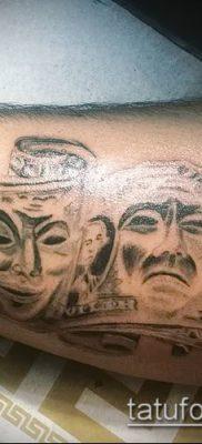 фото тату доллар (tattoo dollar) (значение) – пример рисунка – 052 tatufoto.com