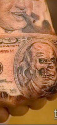 фото тату доллар (tattoo dollar) (значение) – пример рисунка – 053 tatufoto.com