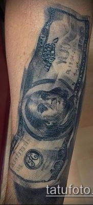 фото тату доллар (tattoo dollar) (значение) – пример рисунка – 061 tatufoto.com
