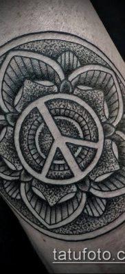 фото тату дотворк (tattoo) (значение) – пример рисунка – 125 tatufoto.com
