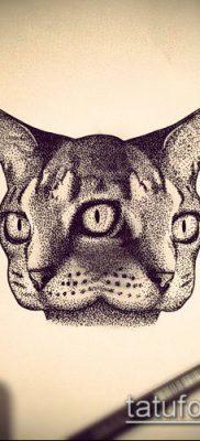 тату дотворк №665 – уникальный вариант рисунка, который успешно можно использовать для переделки и нанесения как тату дотворк для девушек