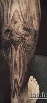 тату дотворк №655 – интересный вариант рисунка, который легко можно использовать для переделки и нанесения как тату дотворк на ноге
