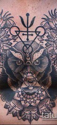 тату дотворк №790 – крутой вариант рисунка, который легко можно использовать для переделки и нанесения как тату дотворк рукава