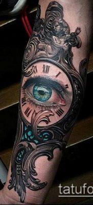 тату зеркало №613 – эксклюзивный вариант рисунка, который легко можно использовать для доработки и нанесения как тату зеркало на руке