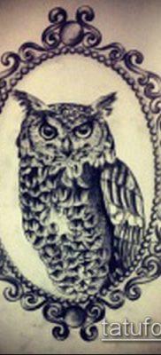 тату зеркало №733 – достойный вариант рисунка, который легко можно использовать для преобразования и нанесения как тату зеркала на спине