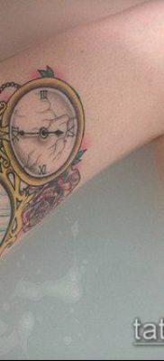 тату зеркало №941 – достойный вариант рисунка, который хорошо можно использовать для доработки и нанесения как тату зеркало олд скул