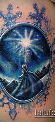 тату зеркало №280 – эксклюзивный вариант рисунка, который удачно можно использовать для переделки и нанесения как тату зеркало венеры