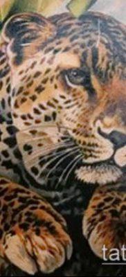 тату ирбис №855 – интересный вариант рисунка, который хорошо можно использовать для доработки и нанесения как тату ирбис динго