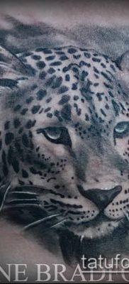 тату ирбис №5 – крутой вариант рисунка, который успешно можно использовать для преобразования и нанесения как тату ирбис снежный барс