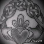 тату кельтика №1 - крутой вариант рисунка, который хорошо можно использовать для доработки и нанесения как тату кельтика рукав
