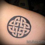 тату кельтика №458 - классный вариант рисунка, который успешно можно использовать для переделки и нанесения как тату кельтика браслет
