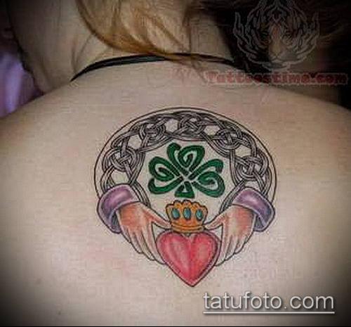 тату кельтика №975 - эксклюзивный вариант рисунка, который удачно можно использовать для переработки и нанесения как тату кельтика на руке