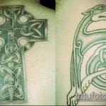 тату кельтика №227 - прикольный вариант рисунка, который хорошо можно использовать для доработки и нанесения как Tattoo of the Celtic