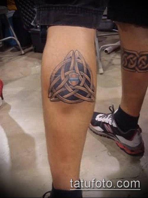 тату кельтика №381 - классный вариант рисунка, который хорошо можно использовать для переработки и нанесения как тату кельтика на предплечье