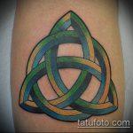 тату кельтика №957 - достойный вариант рисунка, который успешно можно использовать для переработки и нанесения как тату кельтика браслеты