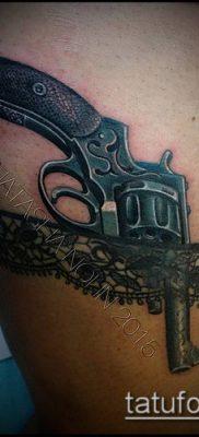 тату кружева №688 – интересный вариант рисунка, который хорошо можно использовать для преобразования и нанесения как тату цветы с кружевами