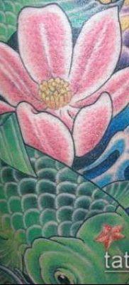 тату магнолия №955 – достойный вариант рисунка, который успешно можно использовать для переработки и нанесения как тату магнолия на руке