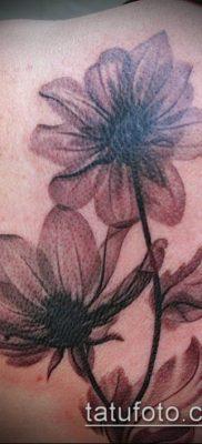 тату магнолия №319 – крутой вариант рисунка, который успешно можно использовать для преобразования и нанесения как тату магнолия на руке