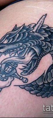 тату меч и змея №591 – крутой вариант рисунка, который легко можно использовать для переработки и нанесения как Tattoo sword and snake