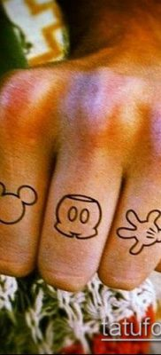 фото тату микки маус (Tattoo) (значение) – пример рисунка – 021 tatufoto.com