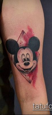 фото тату микки маус (Tattoo) (значение) – пример рисунка – 040 tatufoto.com