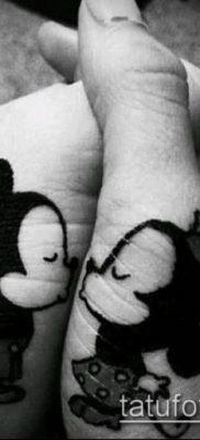 фото тату микки маус (Tattoo) (значение) – пример рисунка – 058 tatufoto.com