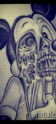 фото тату микки маус (Tattoo) (значение) – пример рисунка – 065 tatufoto.com